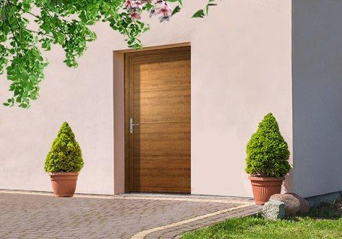 Einflügelige Nebentüren