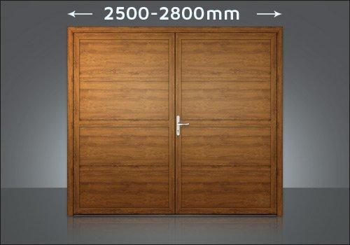 Zweiflügelige Tore  2450-2800mm