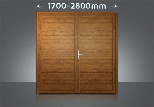 Zweiflügelige Tore 1700-2400mm