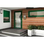 Alu-Haustür MB-Vision Plus Capella - Ral 6005 Mossgrün