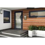 Alu-Haustür MB-Vision Plus Capella - Ral 5011 Stahlblau