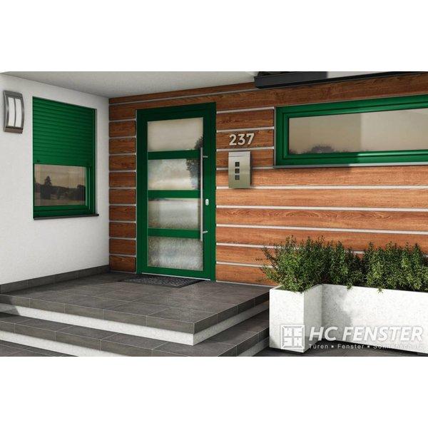Alu-Haustür MB-Vision Plus Alchena - Ral 6005 Moosgrün