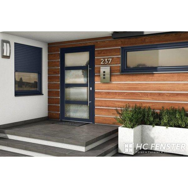Alu-Haustür MB-Vision Plus Alchena - Ral 5011 Stahlblau