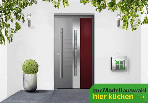 Tür ohne Seitenteil