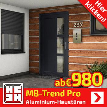 MB-Trend Pro Alu-Haustüren