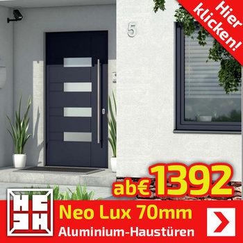 Neo Lux  Alu-Haustüren 70mm
