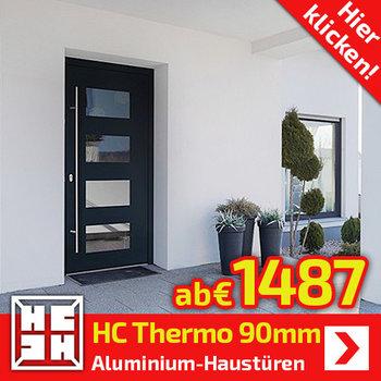 HC-Thermo Exklusiv Alu-Haustüren 90mm