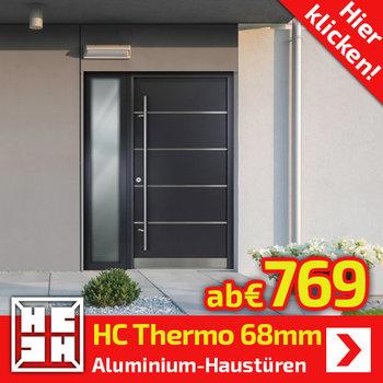 HC-Thermo  Alu-Haustüren 68mm
