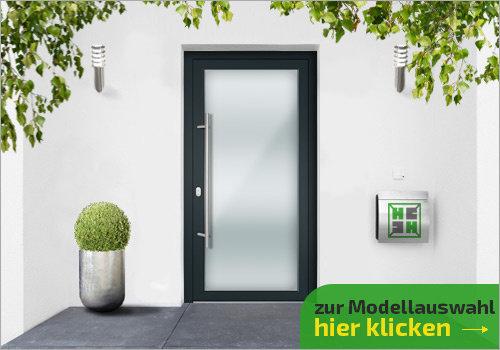 Tür ohne Seitenteile