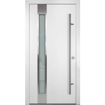 Ultra-Energiespar-Passivhaustür 92mm  DS92 M04 Farbe Weiß