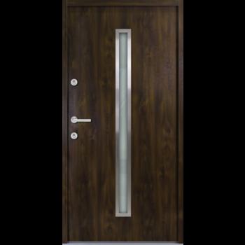 Haustür Nebeneingangstür AT/ATS56 M501 Farbe Nussbaum