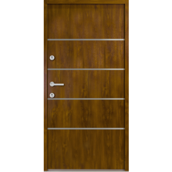 Haustür Nebeneingangstür AT/ATS56 M502 Farbe Goldene Eiche