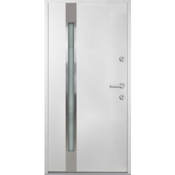 Haustür Nebeneingangstür AT/ATS56 M504 Farbe Weiß