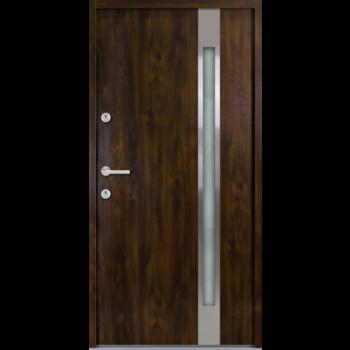 Haustür Nebeneingangstür AT/ATS56 M504 Farbe Nussbaum