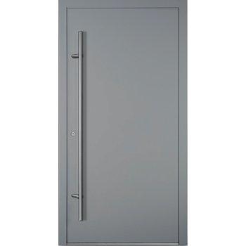 Haustür SL75 M00 Farbe Grau