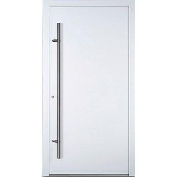 Haustür SL75 M00 Farbe Weiß