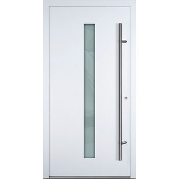 Haustür SL75 M01 Farbe Weiß