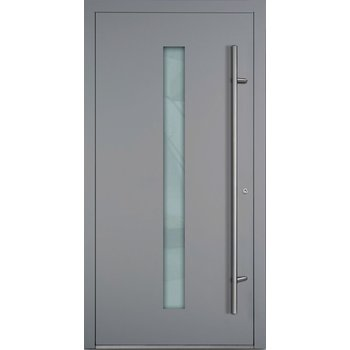 Haustür SL75 M01 Farbe Grau