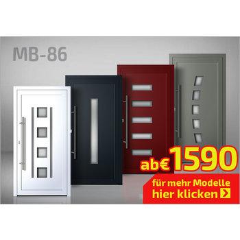 Alu-Haustür MB-86 Ekoline