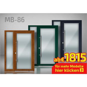 Alu-Haustür MB-86 Vision Plus