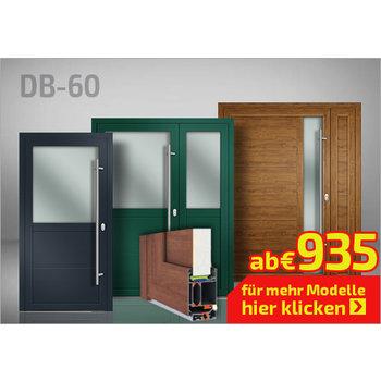 Alu-Nebentür DB 60