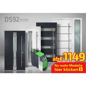 Alu-Haustüren Serie DS 92mm