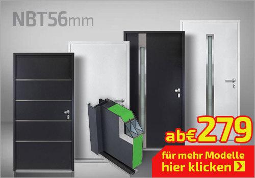 Nebeneingangstüren NBT 56mm
