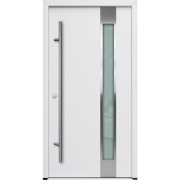 Haustür DS68AC M04 Farbe Weiß