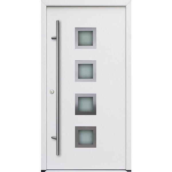 Haustür DS68AC M13 Farbe Weiß