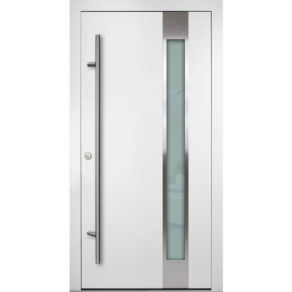 Haustür DS92 M04 Farbe Weiß