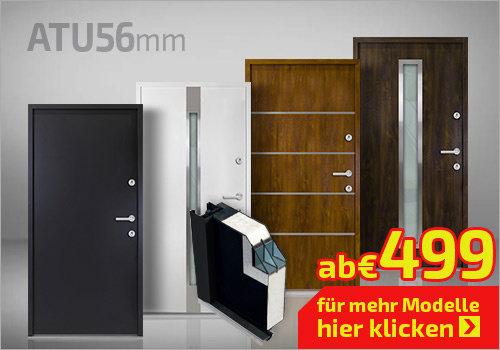Nebeneingangstüren ATU 56mm