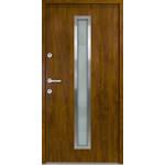 Haustür Nebeneingangstür ATU56 M600 Farbe Goldene Eiche