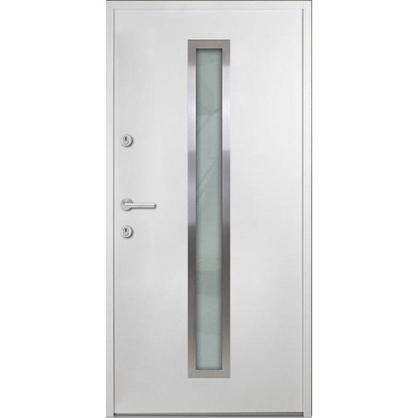 Haustür Nebeneingangstür ATU56 M600 Farbe Weiß