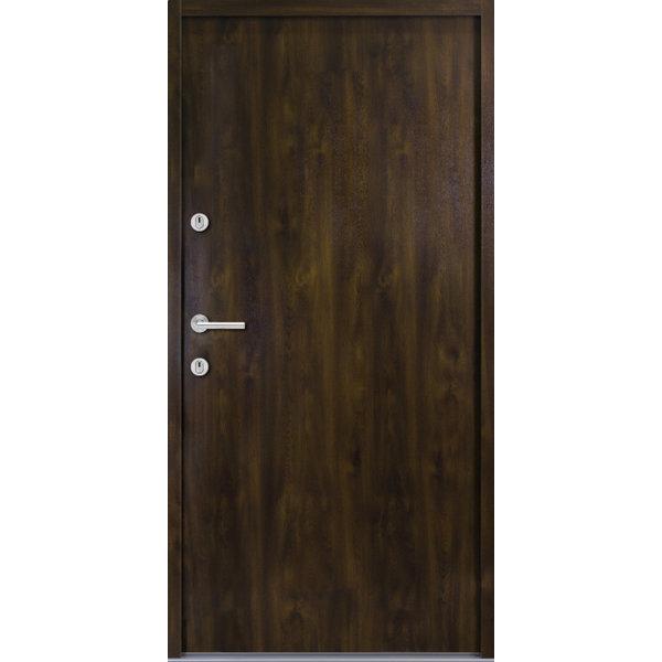 Haustür Nebeneingangstür ATU56 M507 Farbe Nussbaum