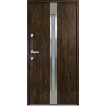 Haustür Nebeneingangstür ATU56 M505 Farbe Nussbaum