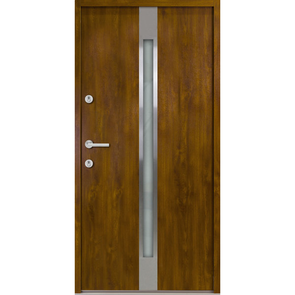 Haustür Nebeneingangstür ATU56 M505 Farbe Goldene Eiche
