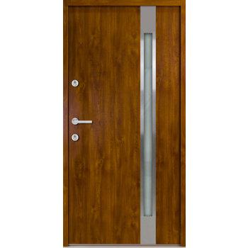 Haustür Nebeneingangstür ATU56 M504 Farbe Goldene Eiche