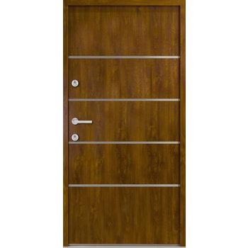 Haustür Nebeneingangstür ATU56 M502 Farbe Goldene Eiche