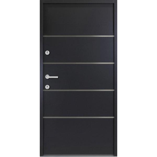 Haustür Nebeneingangstür ATU56 M502 Farbe Anthrazit