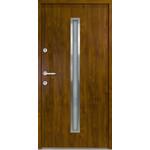 Haustür Nebeneingangstür ATU56 M501 Farbe Goldene Eiche