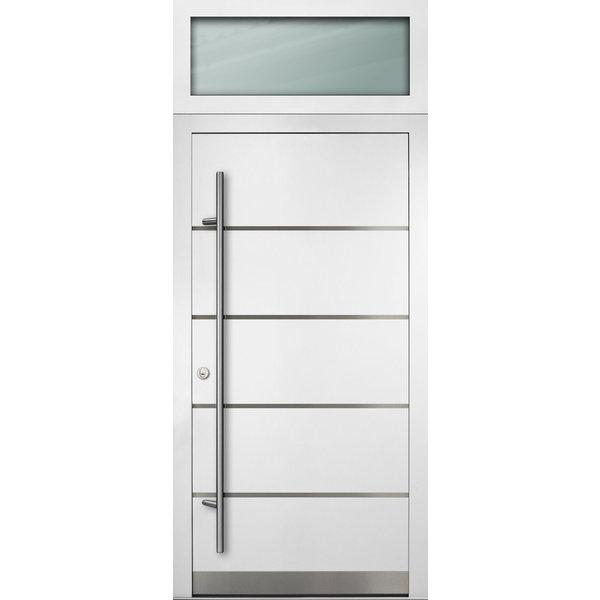 Haustür DS92 M02 Farbe Weiß