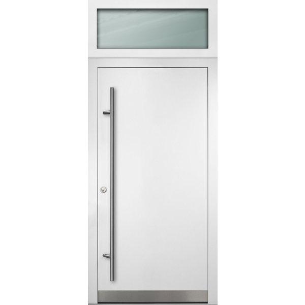 Haustür DS92 M07 Farbe Weiß