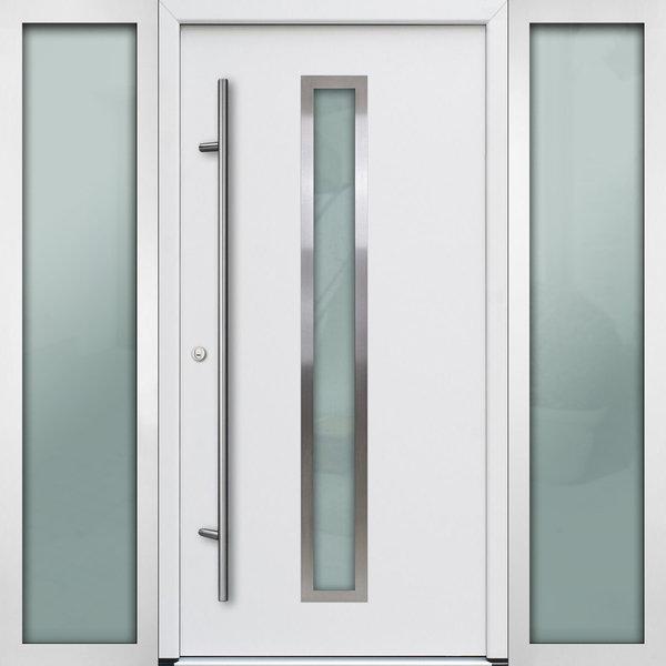 Haustür DS68AC M01 Farbe Weiß
