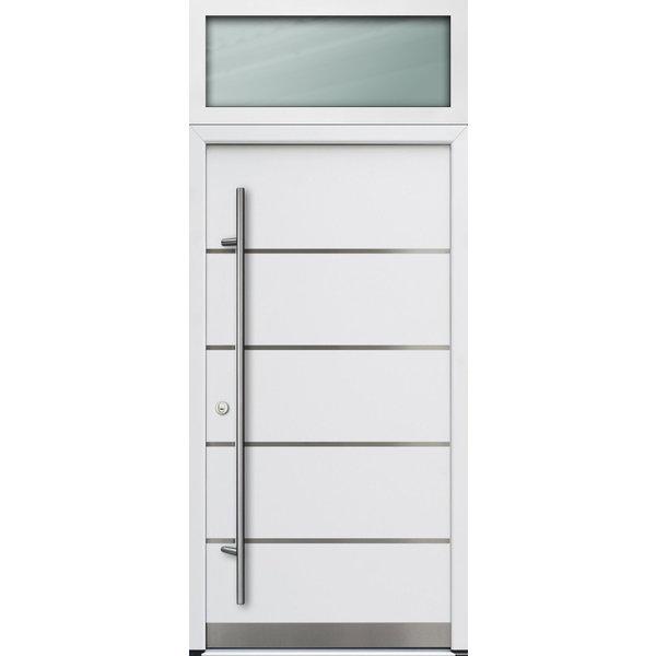 Haustür DS68AC M02 Farbe Weiß