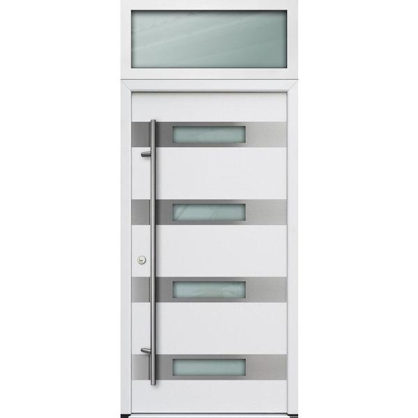 Haustür DS68AC M06 Farbe Weiß