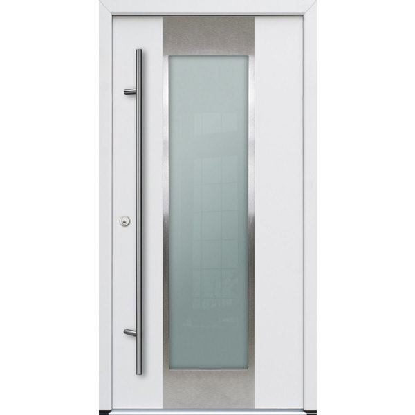 Haustür DS68AC M08 Farbe Weiß