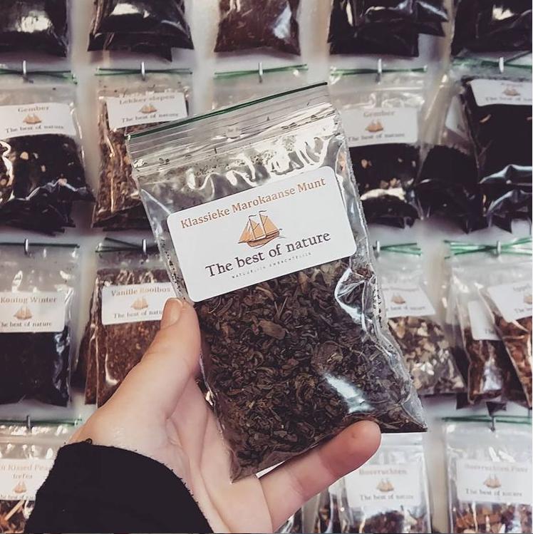 Groene thee bestellen | Theekraam | Online Marktkoopman