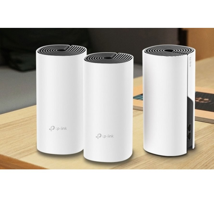 TP-LINK Deco M4(3-pack) router Dual-band (2.4 GHz / 5 GHz)