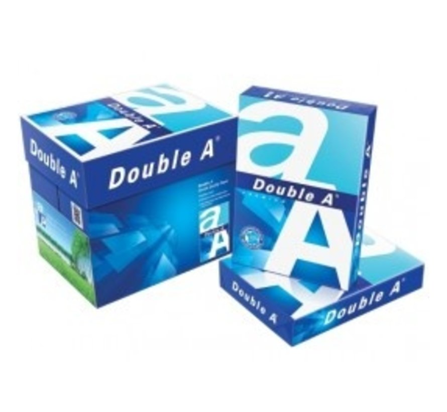 Double A Paper A4 80 grams - Doos (5 pak à 500 vel)