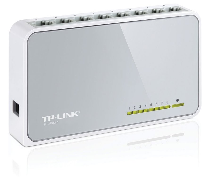 TP-Link TL-SF1008D Switch 8-Poorts 100mbit
